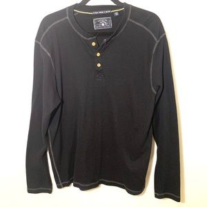 Washed stoned and beaten shirt Men's size XXL